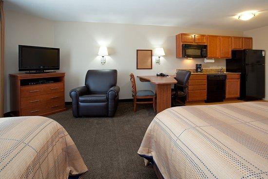 Suites offer plenty of room to make yourself at home in Loveland.