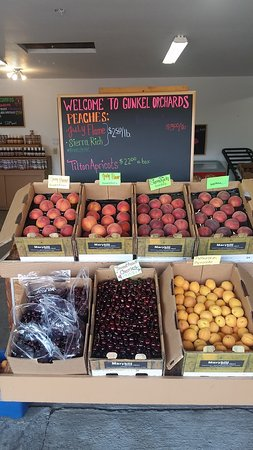 Gunkel Orchards Fruit Stand