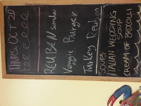 North Aurora, IL: just got a new menu :-)