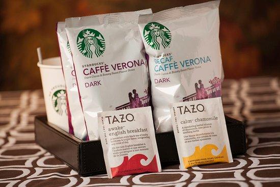 ฮิคกอรี, นอร์ทแคโรไลนา: Starbuck's In-Room Coffee