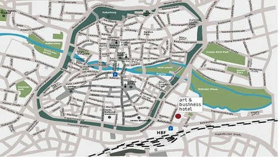 art & business Hotel : Site map