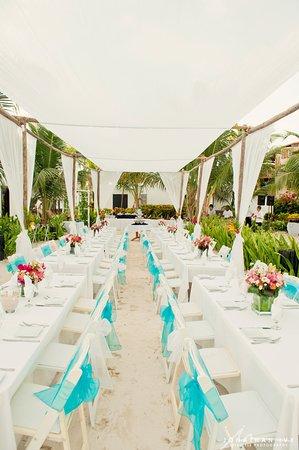 Las Terrazas Resort: Reception Dinner under the Tirzah