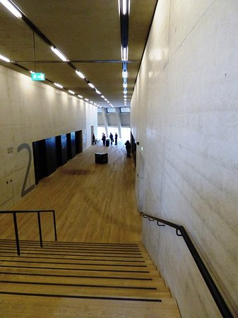 The cavernous interior of the tate modern is astounding
