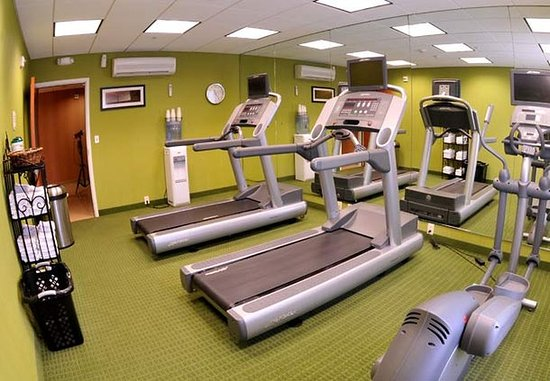 Clovis, Californien: Fitness Center