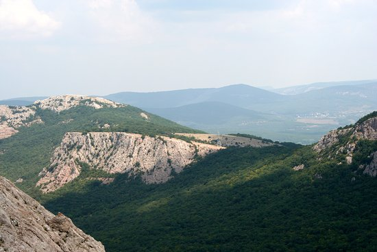 Yalta Municipality: Вид с Ильяс Кая