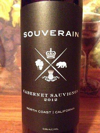 Prescott Valley, Αριζόνα: Souverain Cabernet Sauvignon