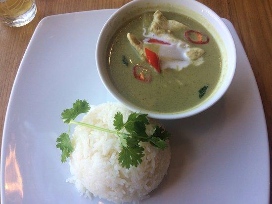 Stevenage, UK: Thai Green Curry