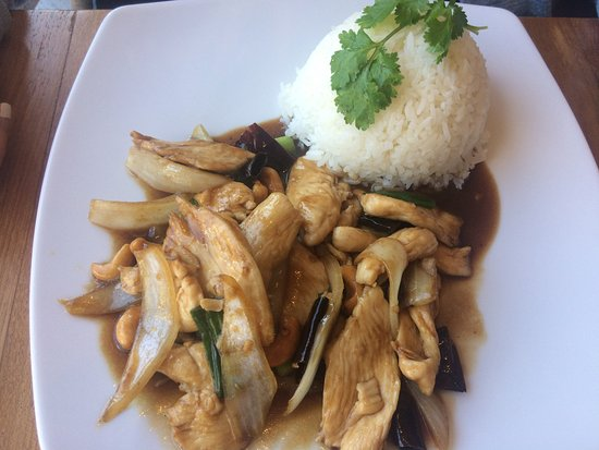 Stevenage, UK: Stir Fried Chicken