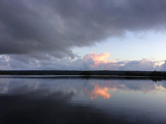 Lake Tegano. Shot taken from Niupani Community.