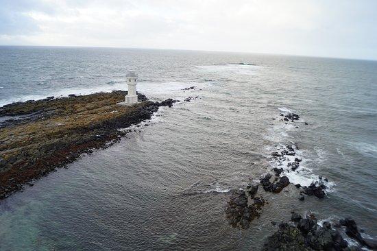 Akranes, IJsland: Blick von oben
