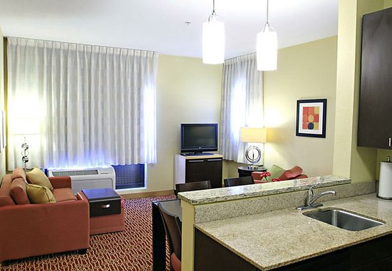 Huntington, WV: One-Bedroom Suite Living Area