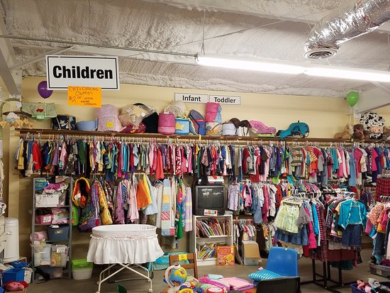 0815eada2c Eureka Christian Health Outreach Thrift Store  Gently used children s  clothing