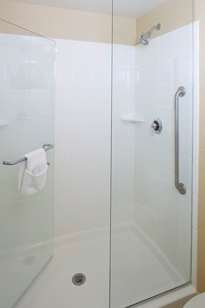 Lake Mary, FL: Glass Enclosed Shower