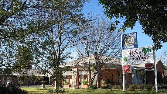 Rutherglen, Australia: Main Entrance
