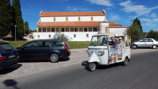 Tomar, Portugalia: Olha um dos Tuk-Tuks!