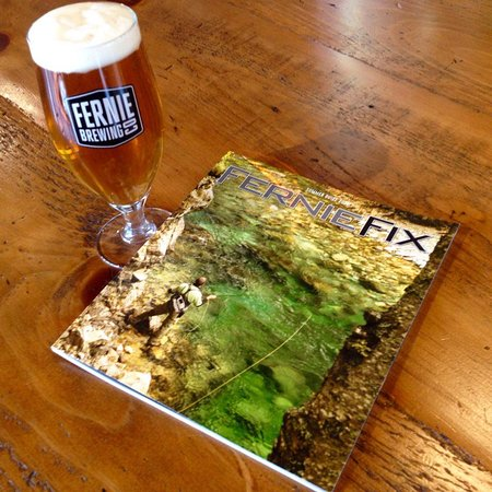 Grab a beer and find out more in the local Fernie Fix.