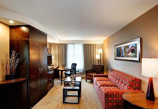 Keene, NH: Suite Living Area