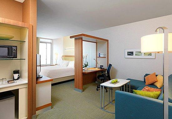 Ridley Park, Pensilvania: King Suite Living Area