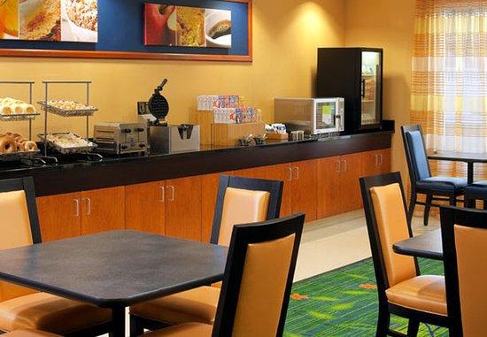 Harrisonburg, Virginie : Breakfast Area