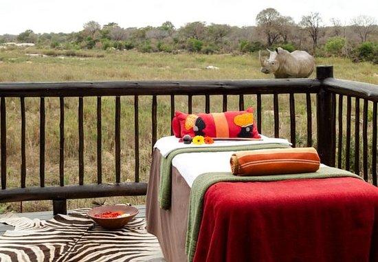 Skukuza, Afrika Selatan: Dee's African Spa – Outdoor Spa Services