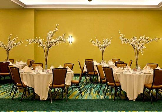 SpringHill Suites Huntsville Downtown: Redstone Ballroom - Banquet Setup