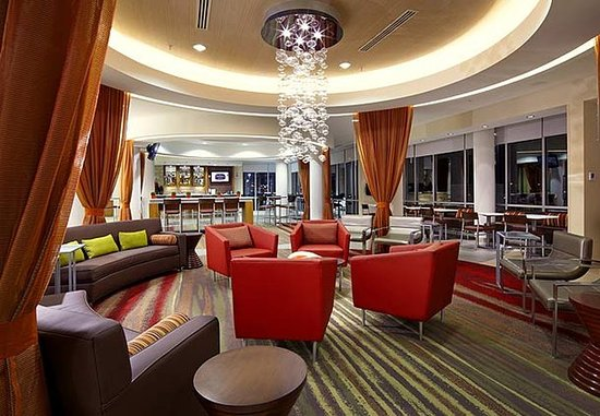 SpringHill Suites Columbus OSU: Lobby Seating