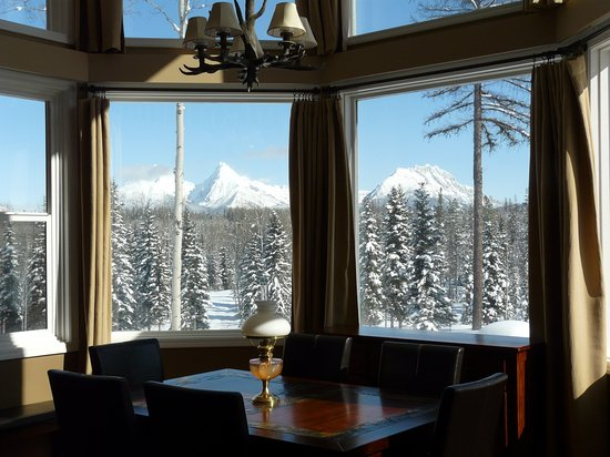 Polebridge, MT : View from Breakfast table