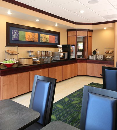Fairfield Inn & Suites Mahwah: Breakfast