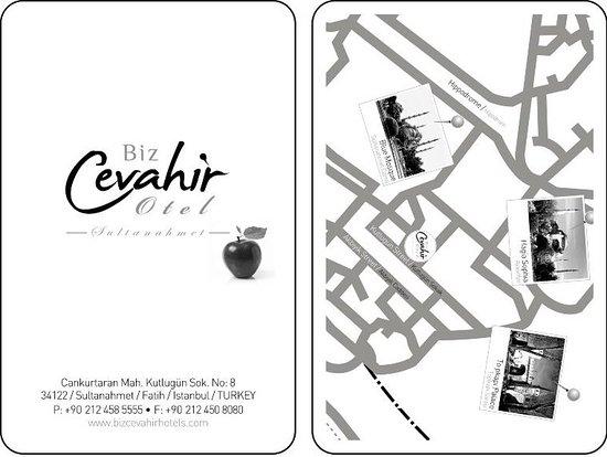 Biz Cevahir Hotel: Location