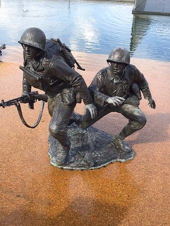 Bedford, VA: Soldiers Hitting the Beach
