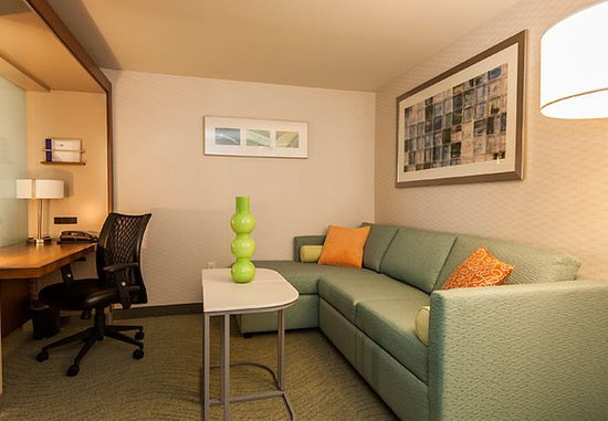 King of Prussia, PA: Suite Living Area
