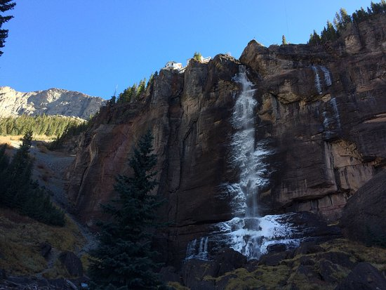 Beautiful Falls!  A must see in Telluride.