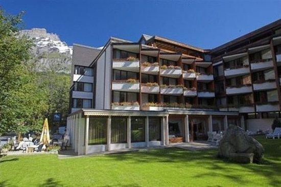 Leukerbad, Sveits: Hotel Exterior
