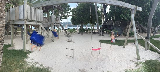 Erakor Island Resort & Spa: The kids had a ball
