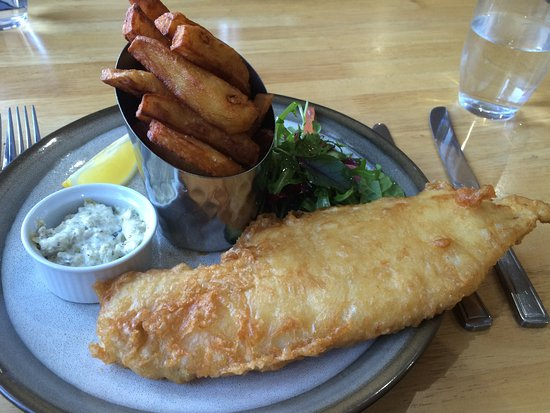 Keith, UK: Delicioso fish & chips