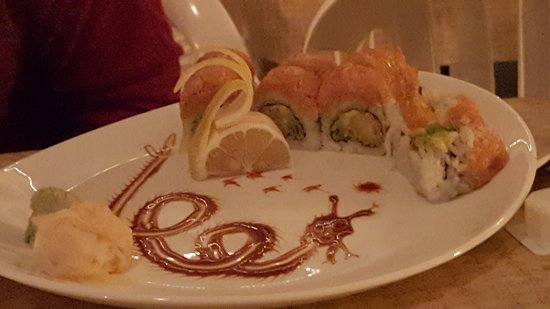 Belmar, NJ: rt 35 Sushi Roll