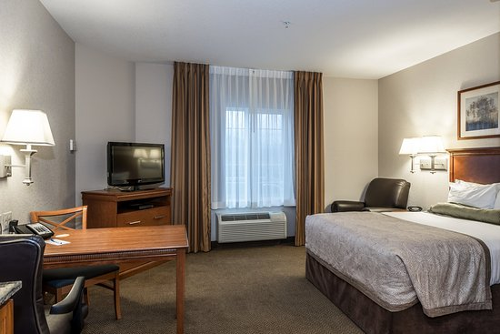 Candlewood Suites Burlington: Studio Suite with 1 Queen bed