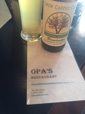 Delta, CO: Opa's German Resturant!