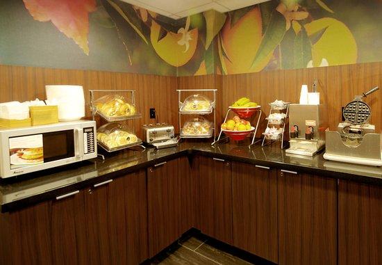 Fairfield Inn & Suites Atlanta Downtown: Breakfast Area