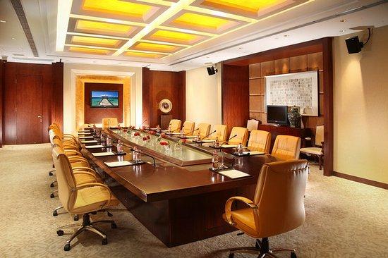 Baoding, Kina: Meeting