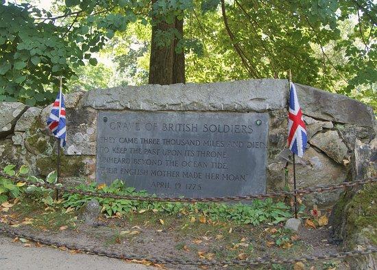 Concord, MA: British Memorial