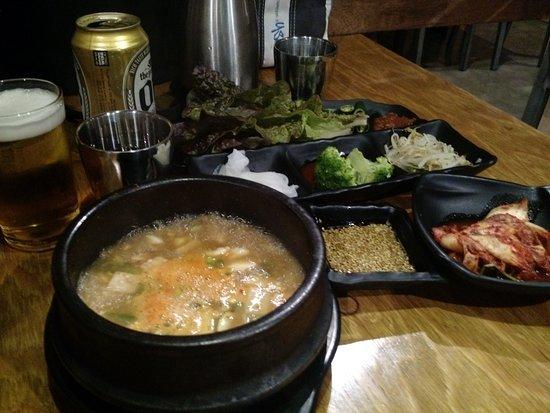 mapo korean bbq delicious korean food