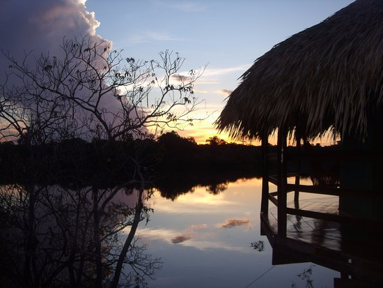 Juma Amazon Lodge: Beautiful sunset at Juma Jungle Lodge!