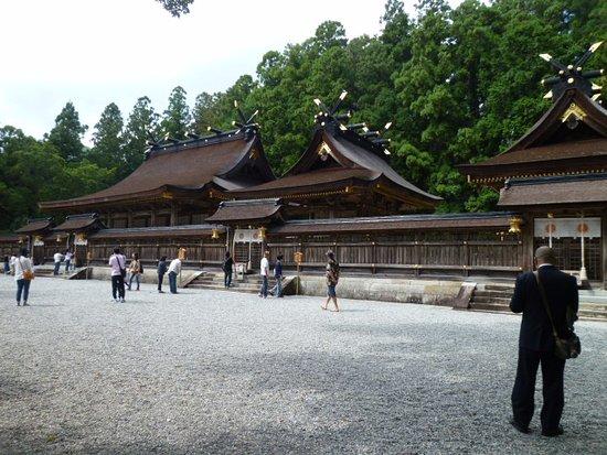 كينكي, اليابان: 熊野本宮大社の御正殿