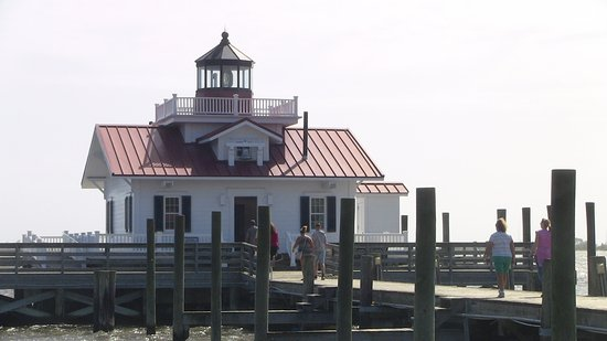 Manteo, Carolina del Norte: Roanoke Marshes Lighthouse visit