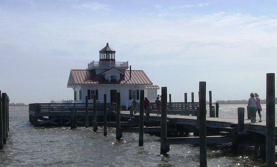 Manteo, Carolina del Norte: Roanoke Marshes Lighthouse visit
