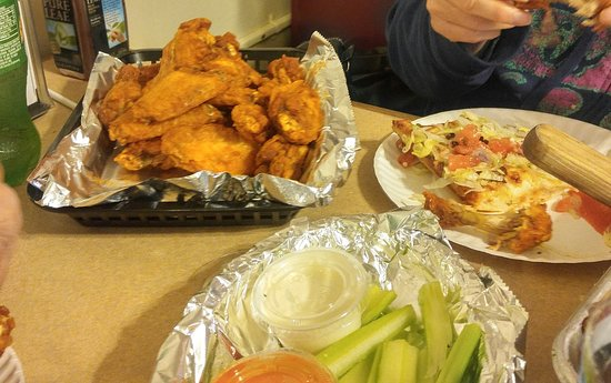 Lewiston, estado de Nueva York: chicken wings
