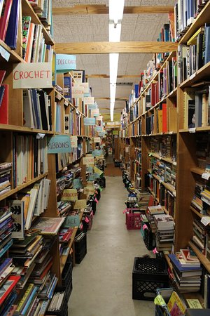 Chamblin Bookmine: You can literally spend all day here.