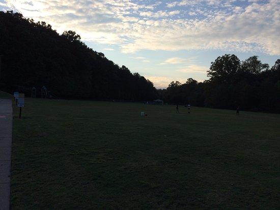 Cumming, GA: Windermere Park has a large lush green  play playground