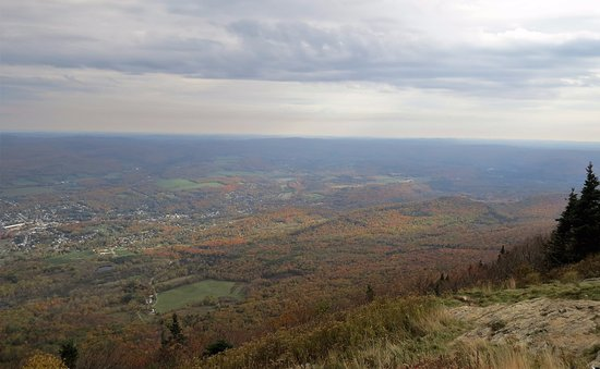 Lanesboro, MA: View from summit
